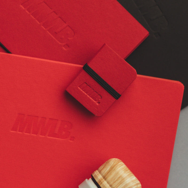 Todo al rojo: Stationery MWLB